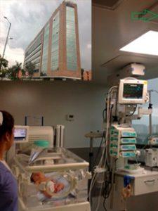 Proyecto Clinica la Colina sección cuidados intensivos e intermedios neonatos
