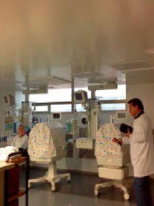 Proyecto Clínica la Colina sección cuidados intensivos e intermedios neonatos
